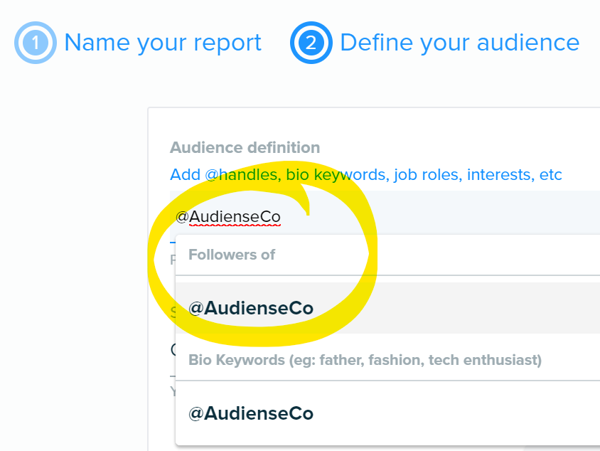 1 @AudienseCo followers of