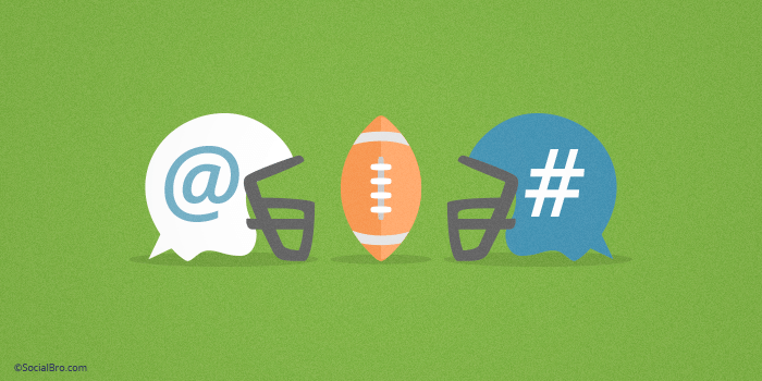 Super bowl SocialBro Twitter Marketing Tips Activity Social Strategy