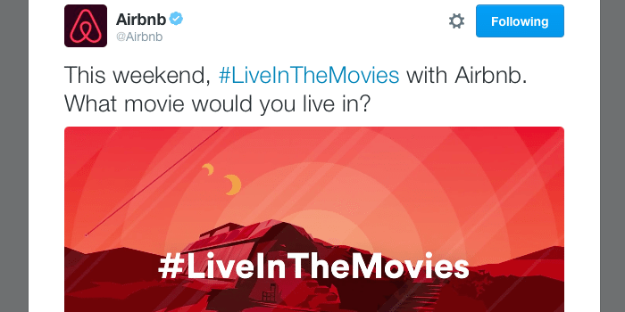 Airbnb Cannes Lions Social Media Movies Oscars Award Winner Interview Case Study Video Twitter