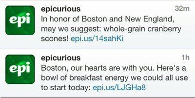 Social Media Crisis Boston Bombing Epicurious