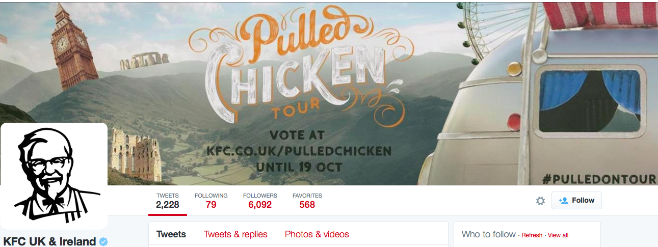 Social Campaign Optimization Checklist Media KFC Twitter