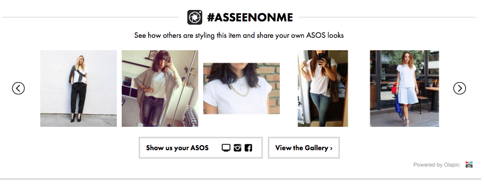 ASOS UGC Social Media Retail Idea Case Study