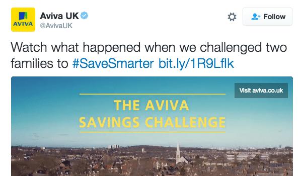 Aviva Savings Challenge