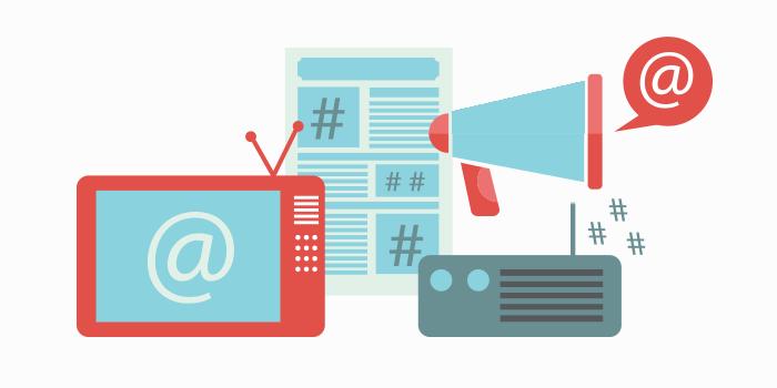 Integrate Offline Online Marketing Social Media Tips Ideas