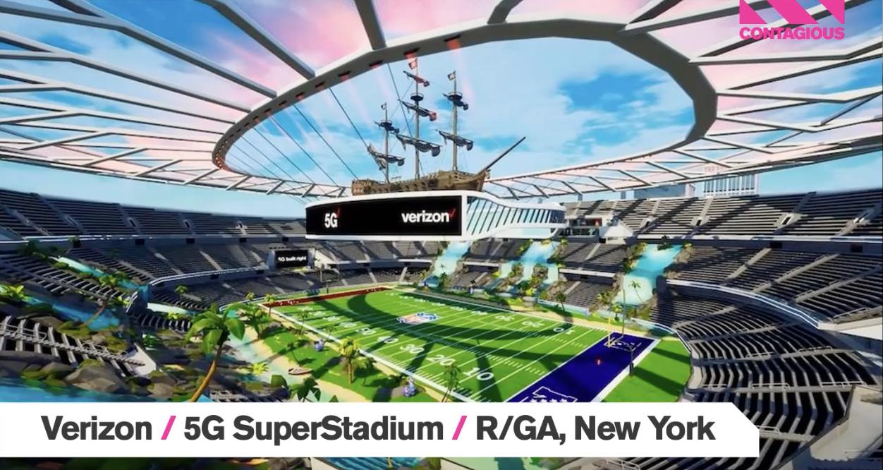 Audiense blog - Verizon | 5G SuperStadium