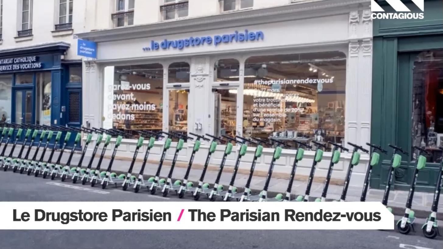 Audiense blog - Le Drugstore Parisien | The Parisan Rendez-vous | Wunderman Thompson Paris