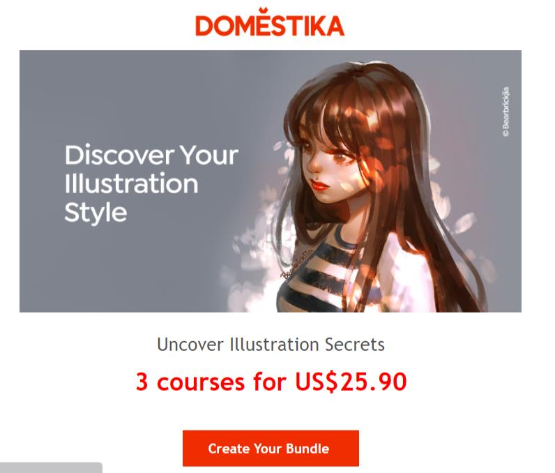 Audiense blog - Domestika sends email updates about the latest offers you might be interested in