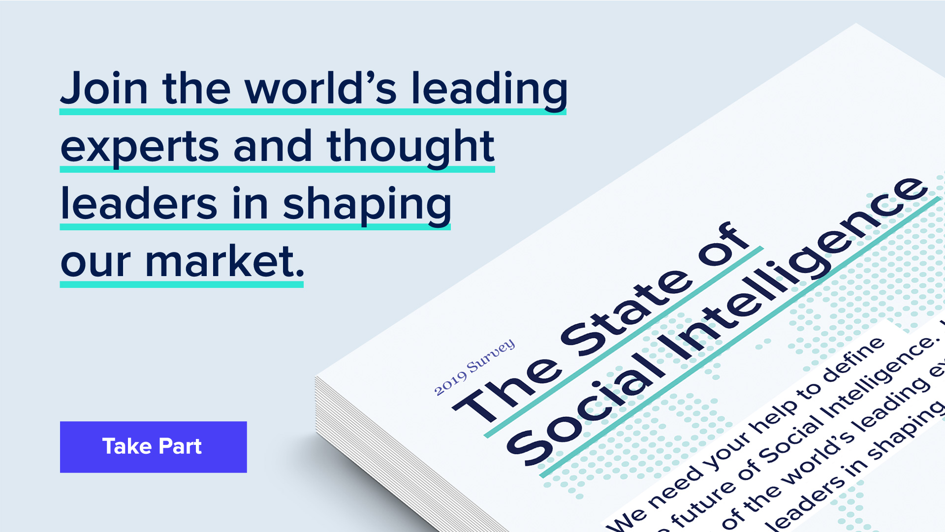 The State of Social Intelligence: The Global Survey